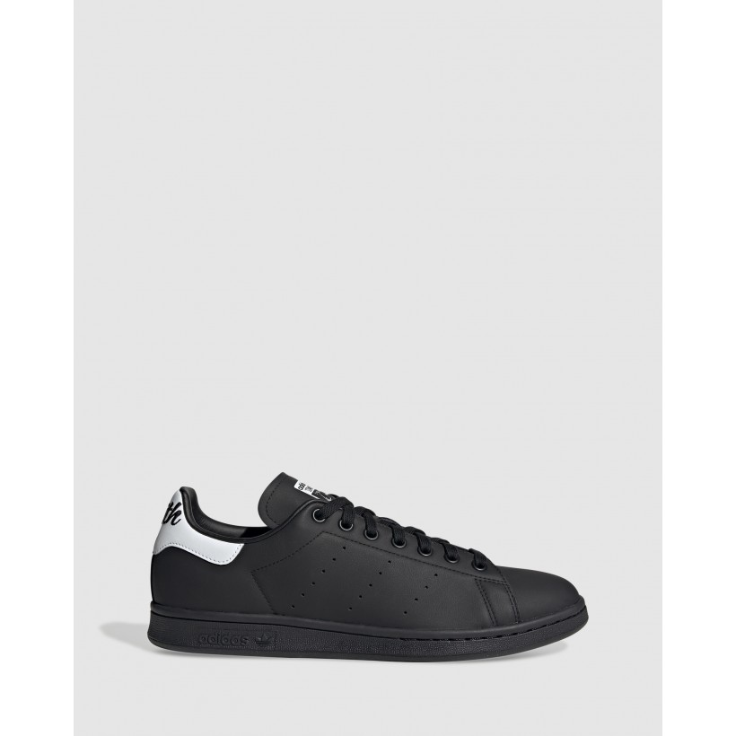 Stan Smith Shoes Core Black / Cloud White / Core Black by Adidas Originals