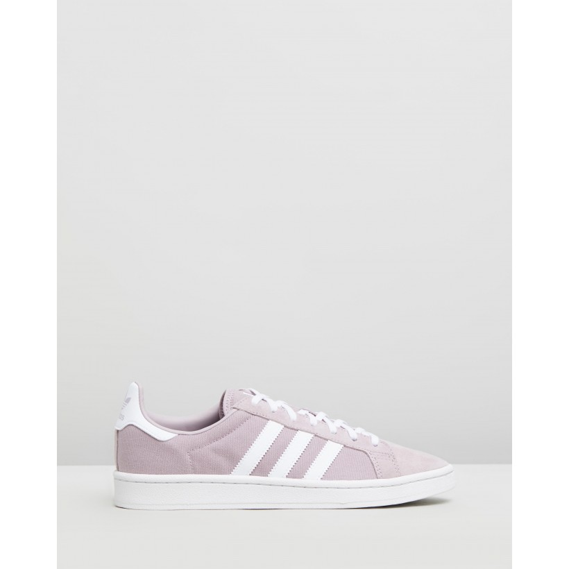 Campus - Women's Soft Vision, Feather White & Crystal White by Adidas Originals