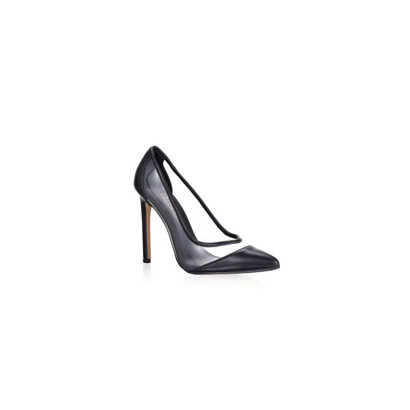 Anique - Black Kid Leather by Siren Shoes