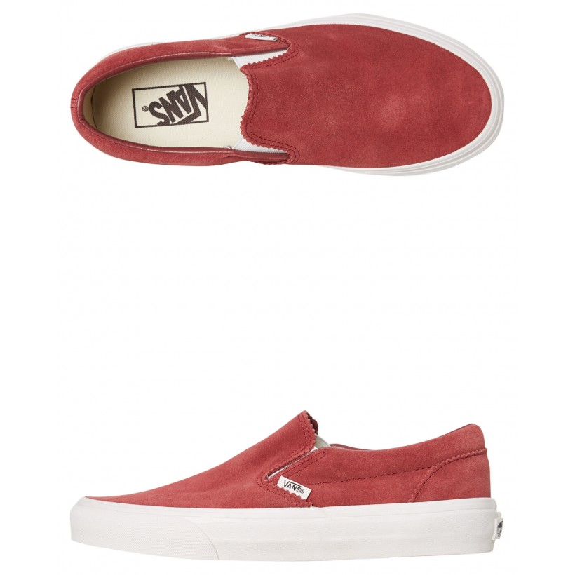 Mens Classic Slip On Shoe Apple