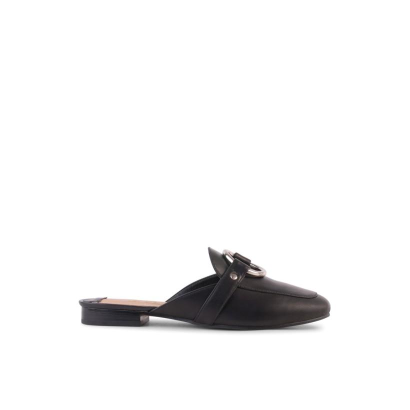 Astrid - Black Kid by Siren Shoes