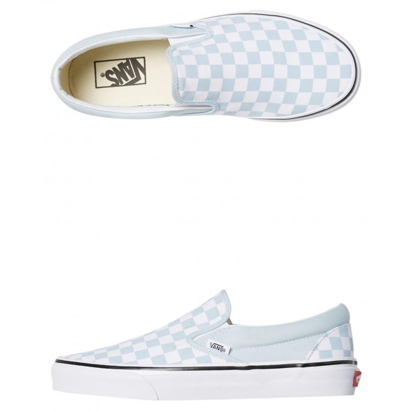 Womens Classic Slip On Shoe Baby Blue