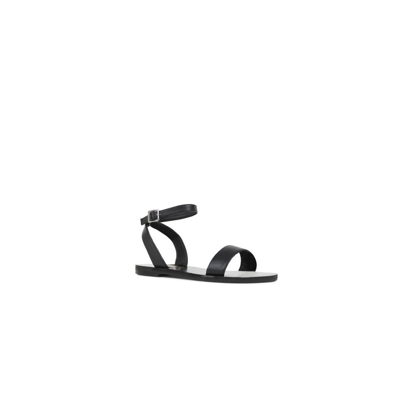 Bardot - Black Calf by Siren Shoes