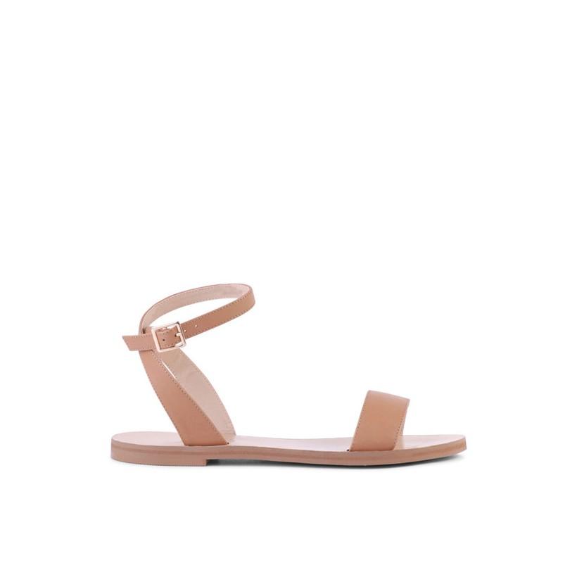 Bardot - Tan Calf by Siren Shoes