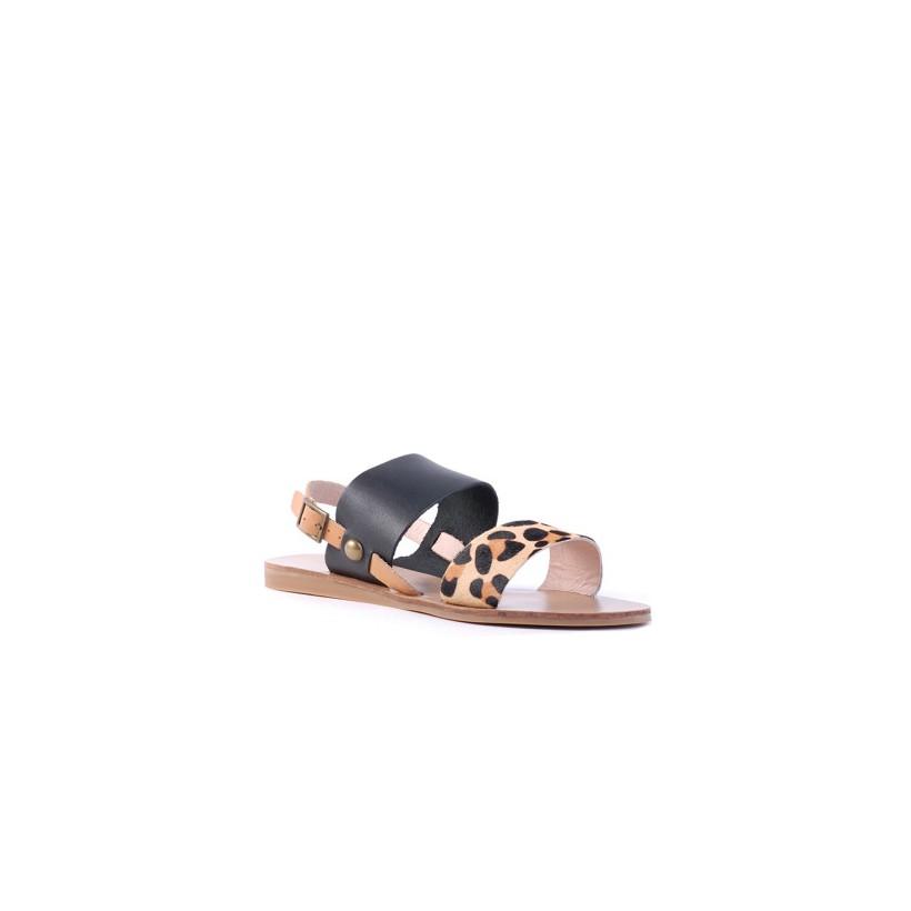 Becca II - Camel Ocelot by Siren Shoes
