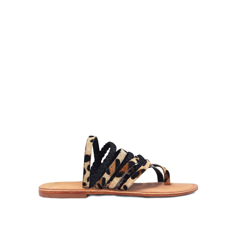 Bentley - Camel Ocelot / Black by Siren Shoes