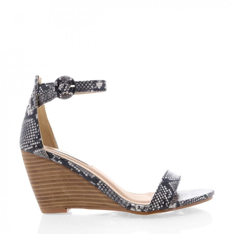 Agari Natural Snake/Nat by Billini Shoes