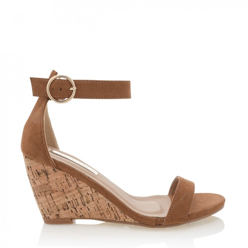 Allegra Tan Suede by Billini Shoes