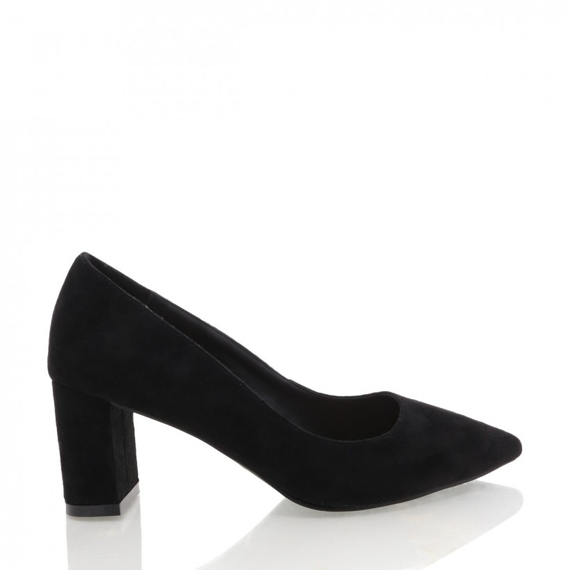 Amber Black Suede by Billini Shoes