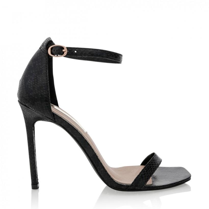 Andi Black Snake by Billini Shoes