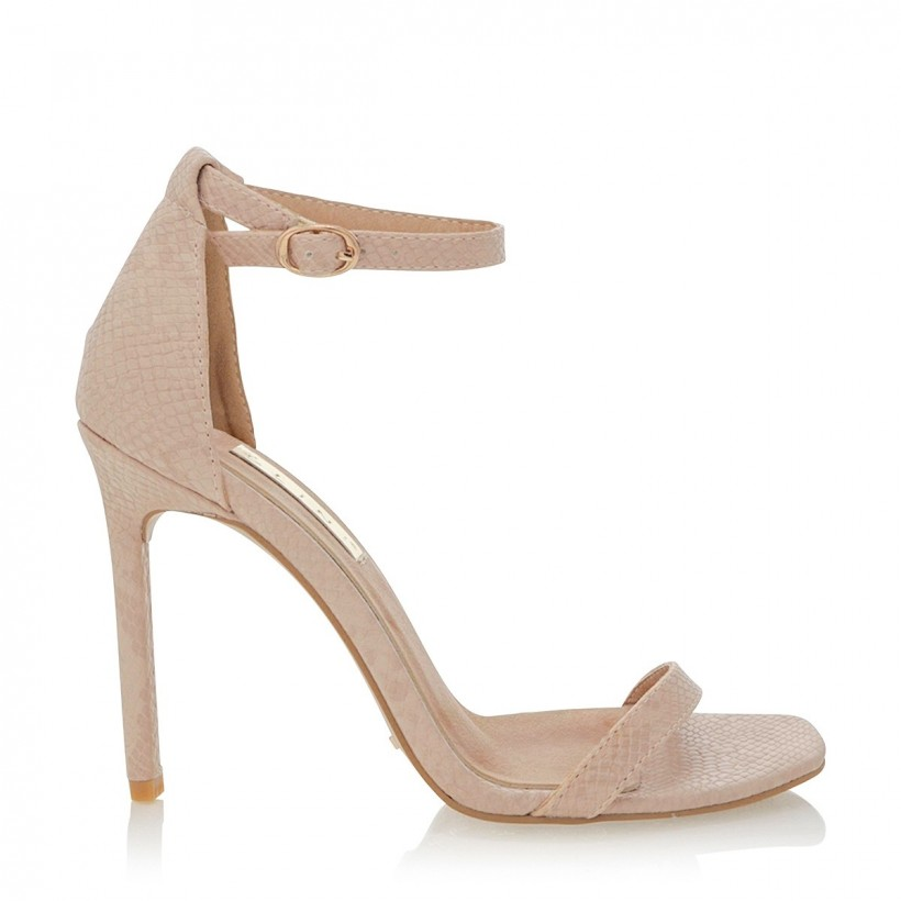 Andi Nude Snake by Billini Shoes