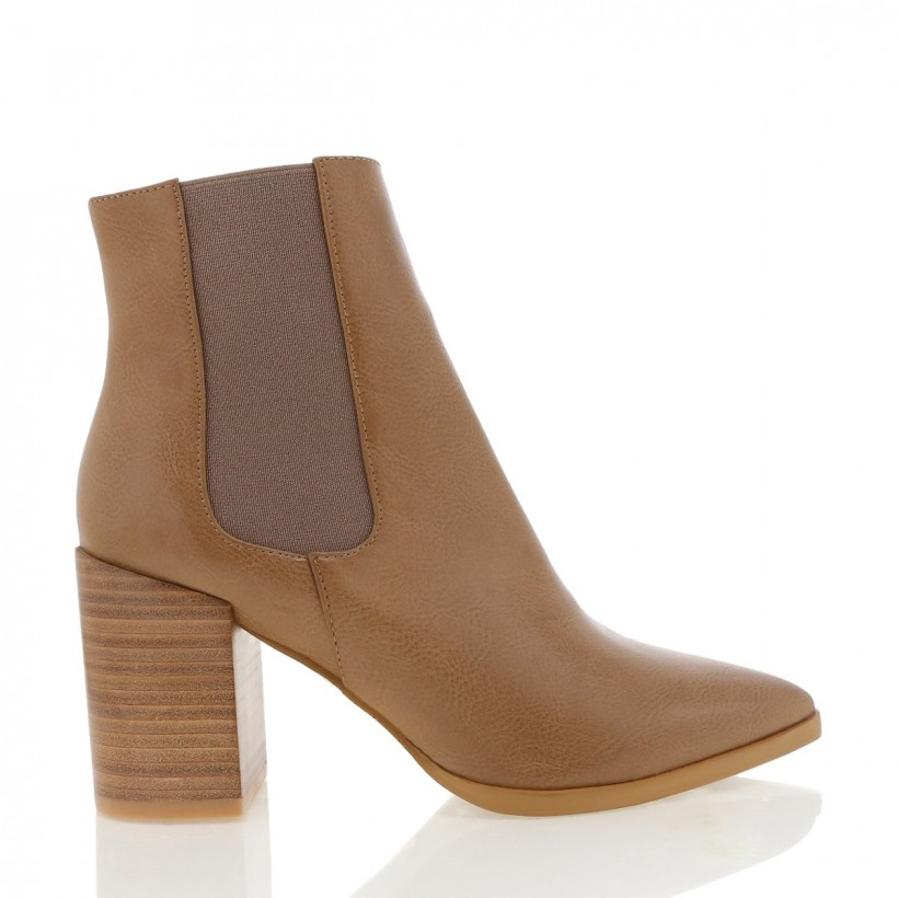 Arcadia Taupe Tumble by Billini Shoes