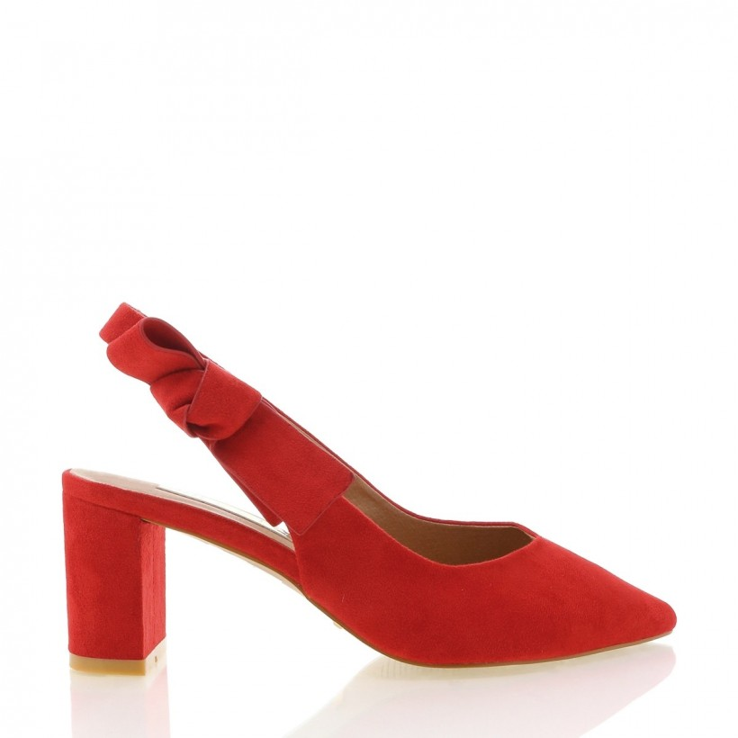 Attika Red Suede by Billini Shoes