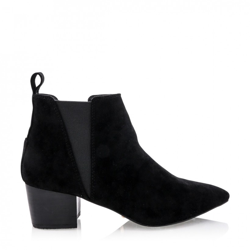 Baci Black Suede by Billini Shoes