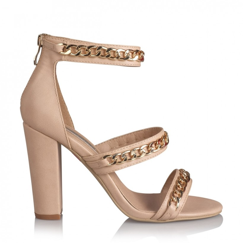 Balti Nude by Billini Shoes