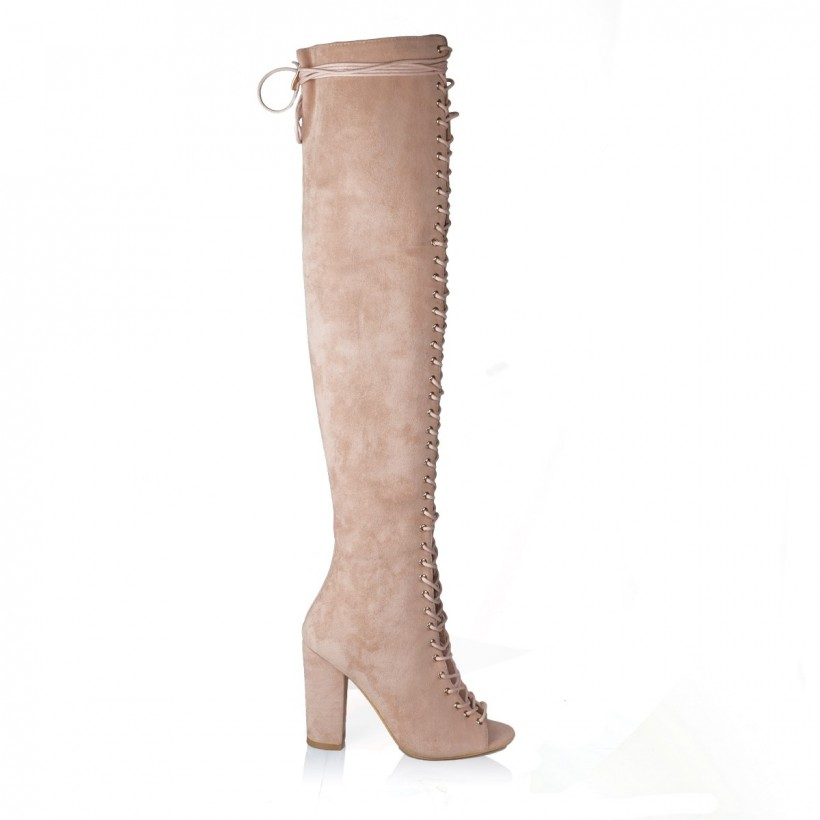 Bardot Blush Suede by Billini Shoes