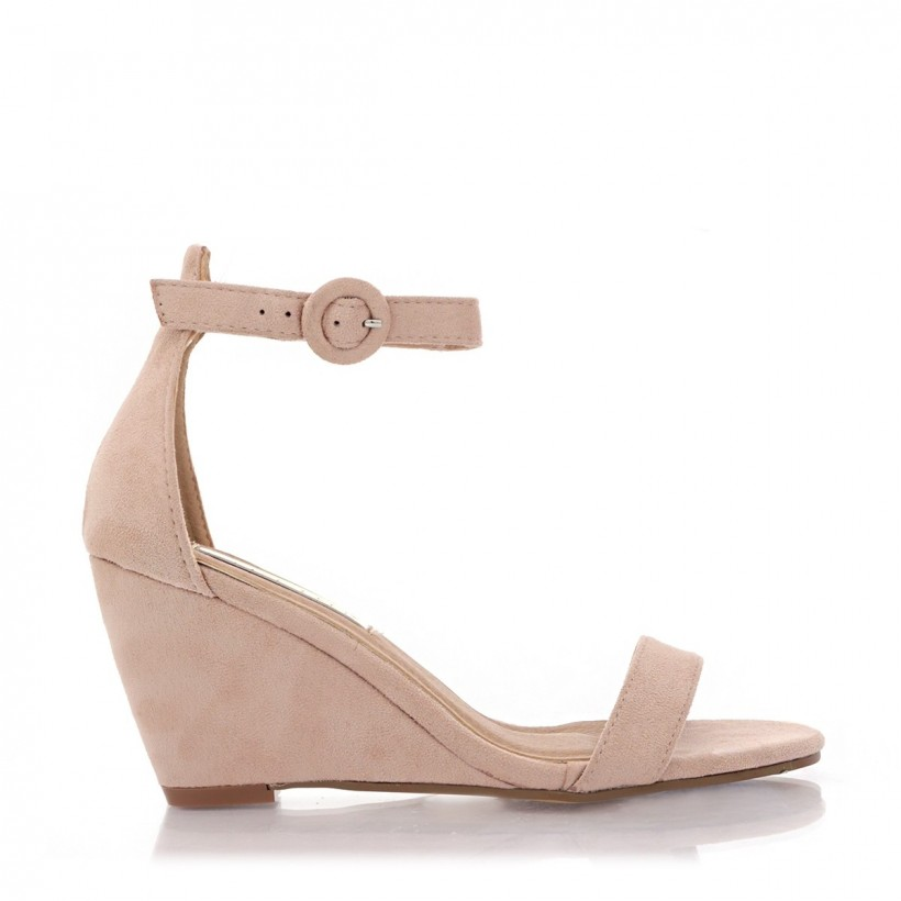 Andros Blush Suede by Billini Shoes