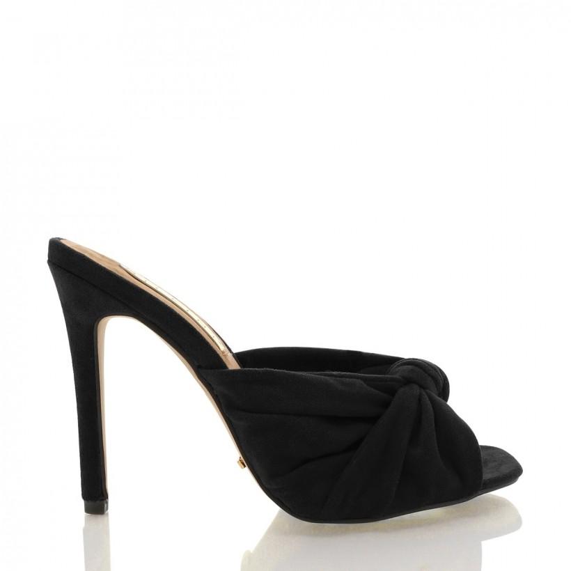 Bonita Black Suede by Billini Shoes