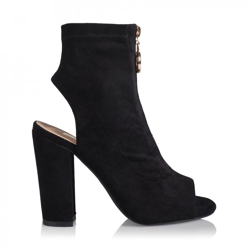 Brodie Black Suede by Billini Shoes