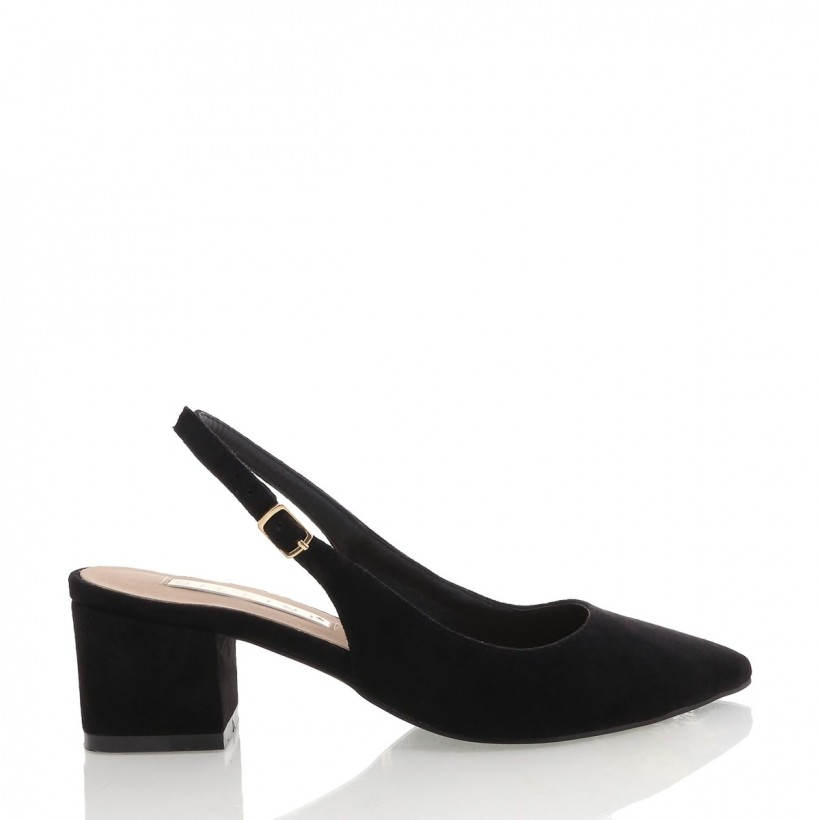 Brooke Black Suede by Billini Shoes