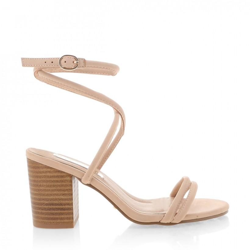 Calvi Nude Nubuck by Billini Shoes