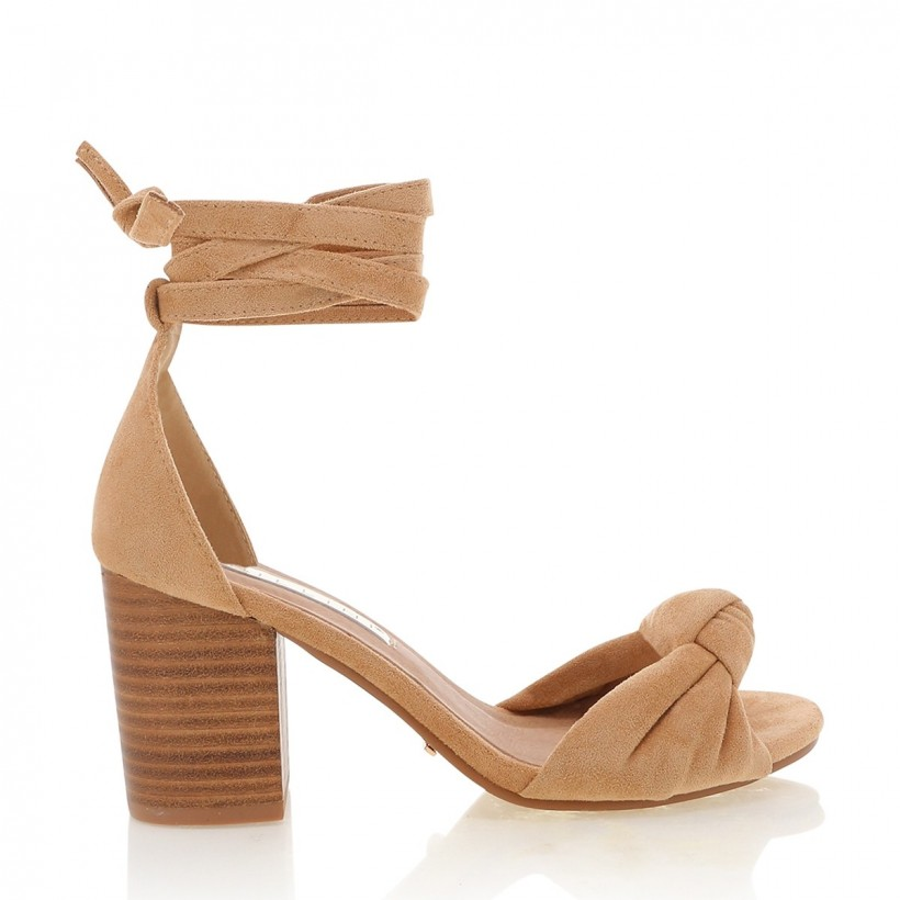 Campania Camel Suede by Billini Shoes