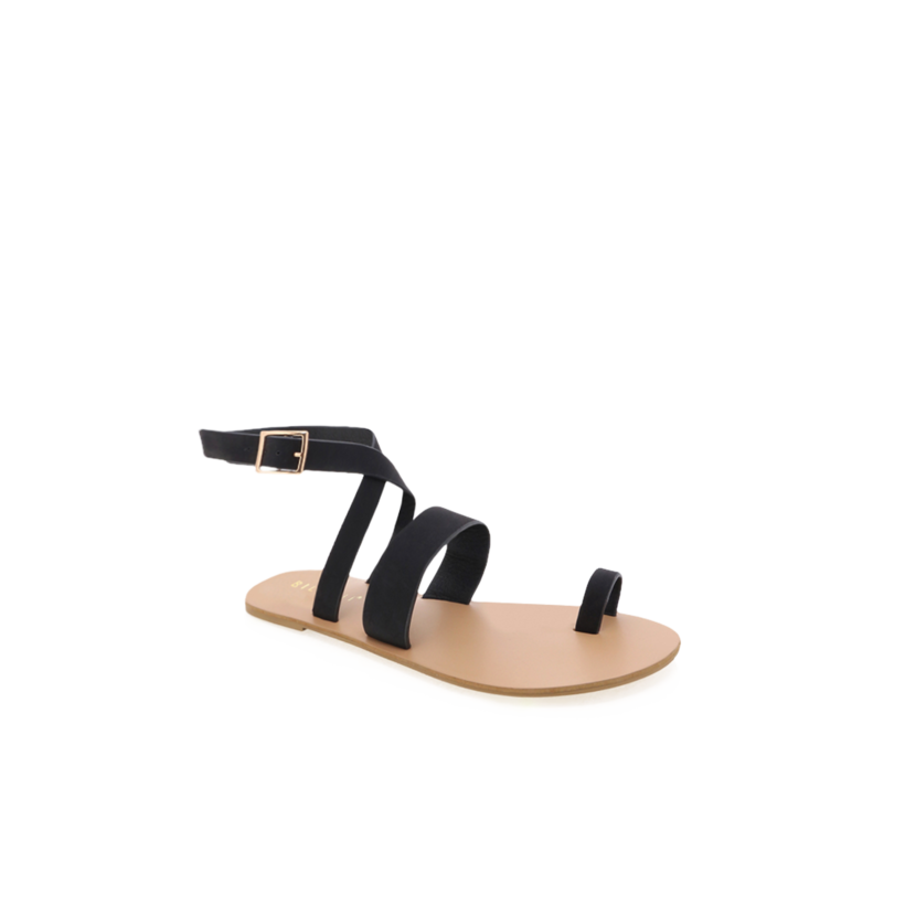 Cara - Black Nubuck by Billini Shoes