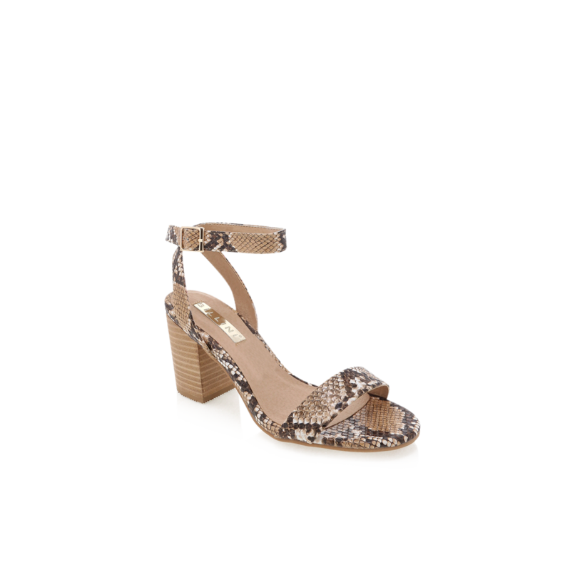 Carlina - Camel Snake by Billini Shoes