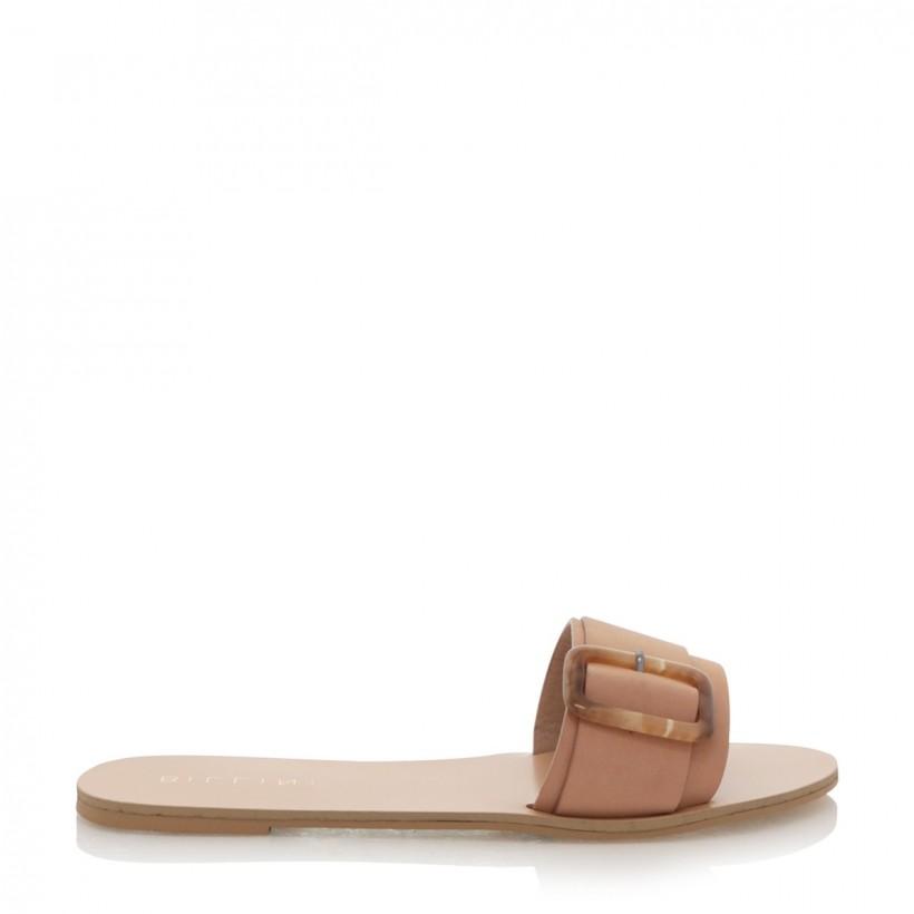 Casablanca Camel Nubuck by Billini Shoes