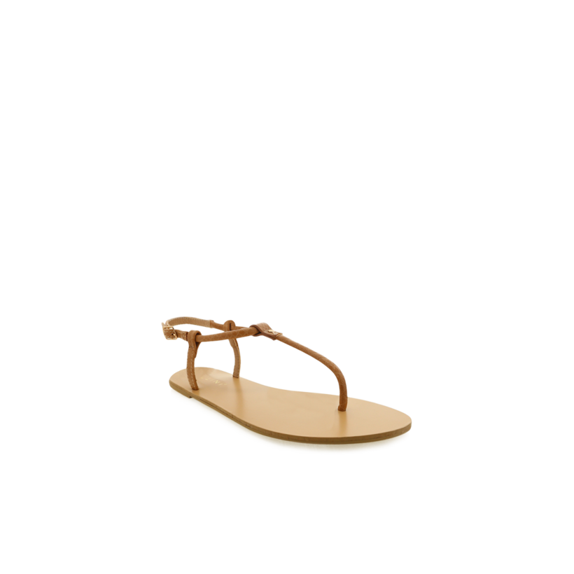 Clarita - Tan Reptile Texture by Billini Shoes