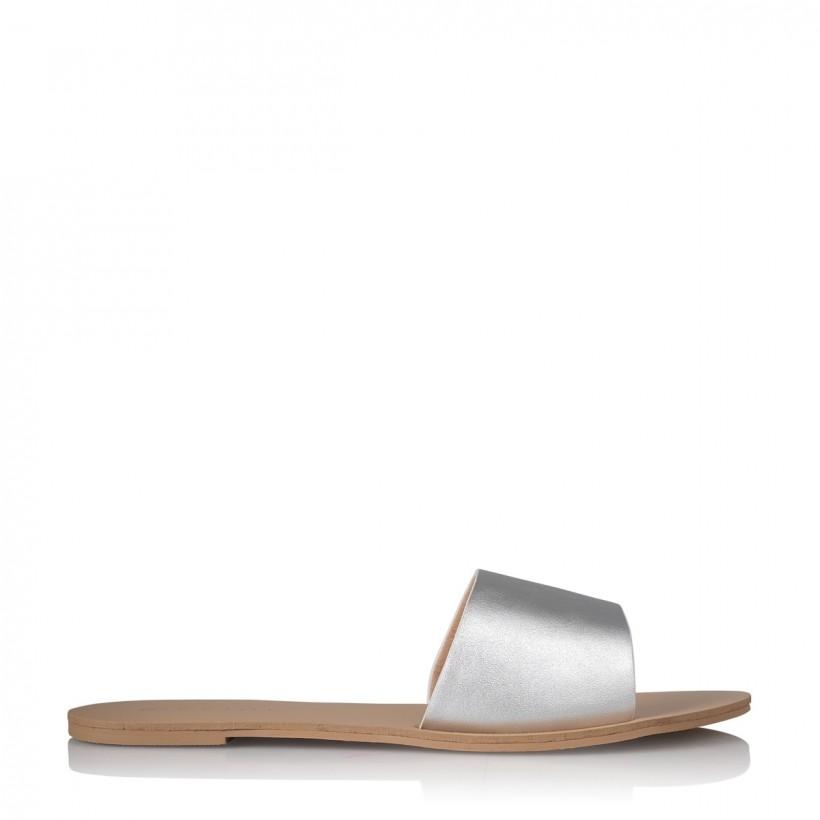 Crete Soft Silver Metallic by Billini Shoes