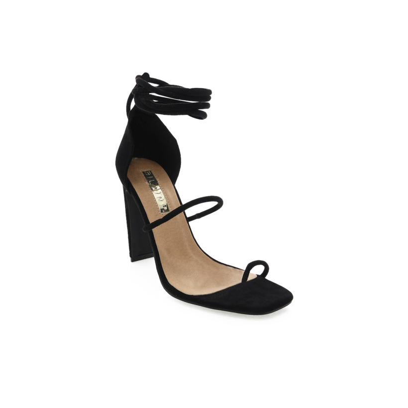 Dakota - Black Suede by Billini Shoes