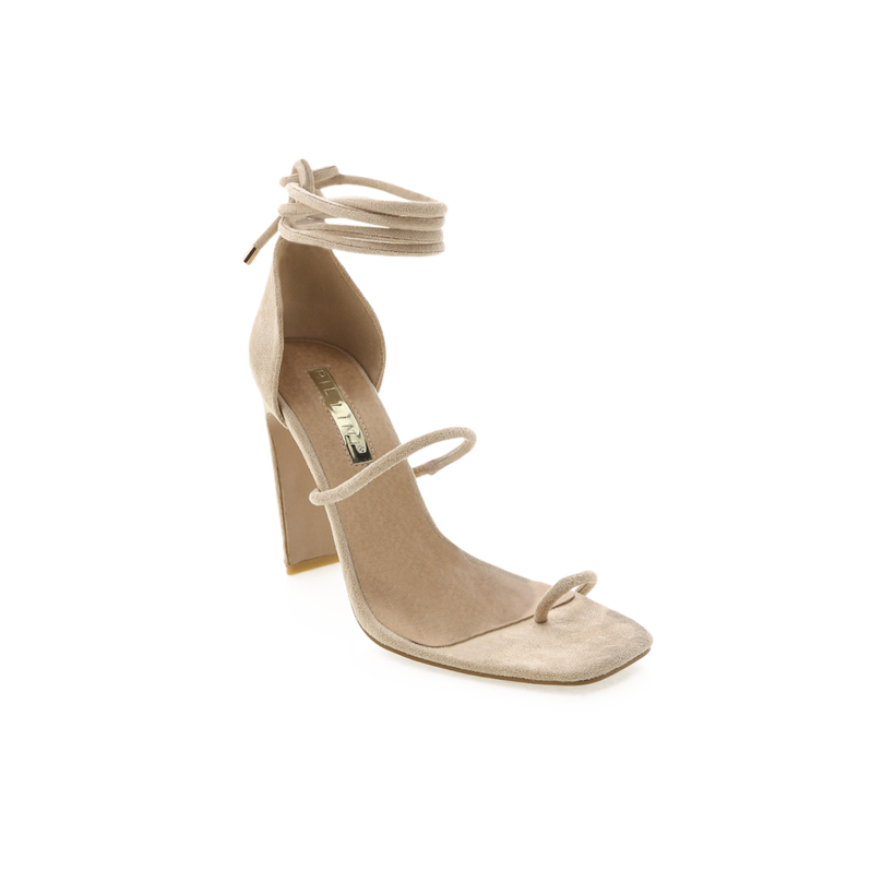Dakota - Nude Suede by Billini Shoes