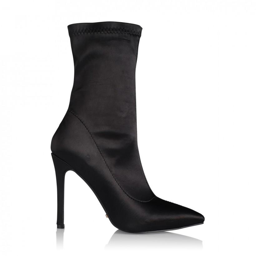 Dashar Black Satin by Billini Shoes