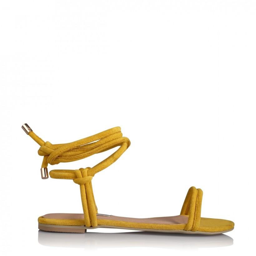 Daytona Yellow Suede by Billini Shoes