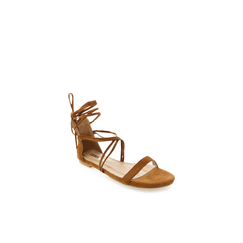 Delira - Chestnut Suede by Billini Shoes