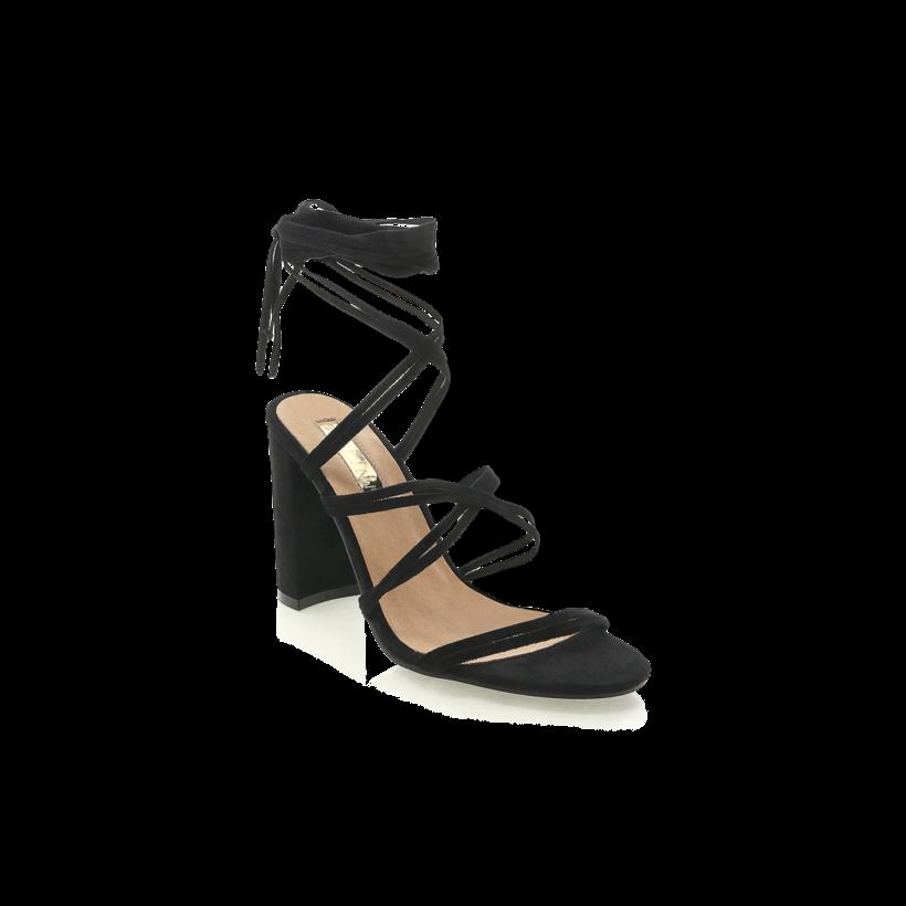 Elisa - Black Suede by Billini Shoes