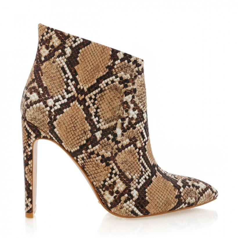 Enya Camel Snake by Billini Shoes