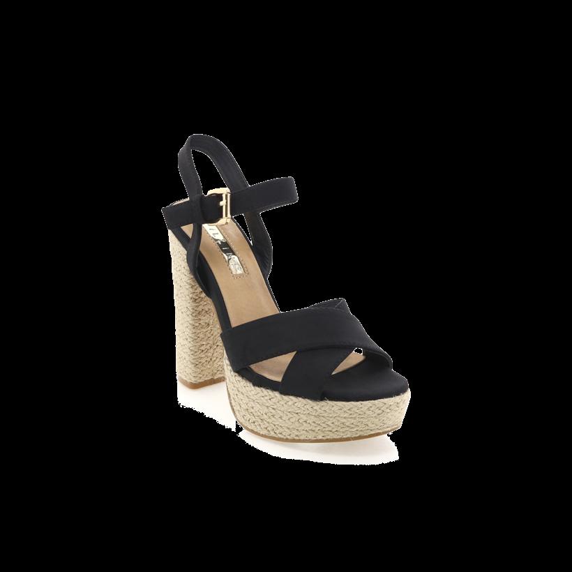 Estee - Black Nubuck by Billini Shoes