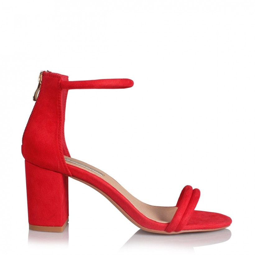 Fiji Red Suede by Billini Shoes