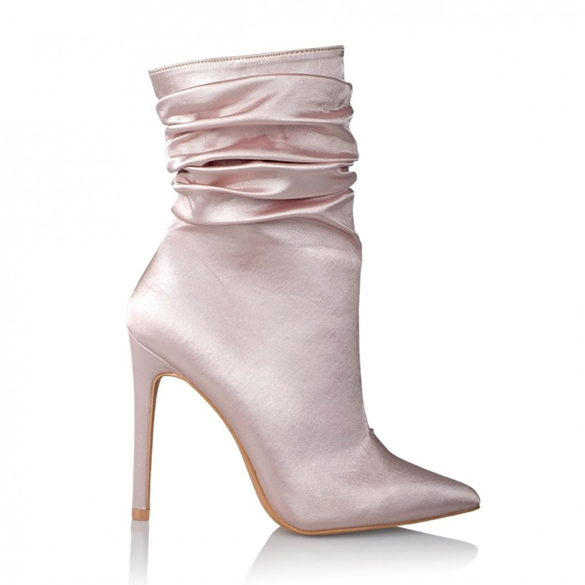 Fleur Champagne Satin by Billini Shoes