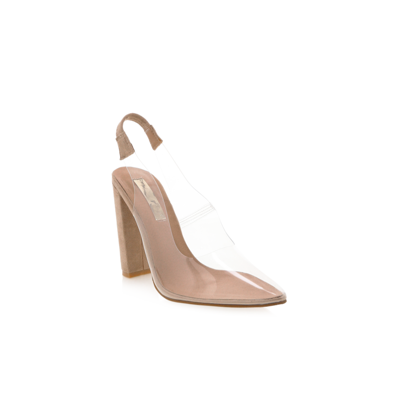 Givara - Nude Suede by Billini Shoes