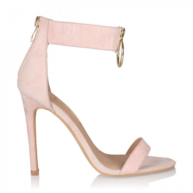 Kavara Nude Suede by Billini Shoes