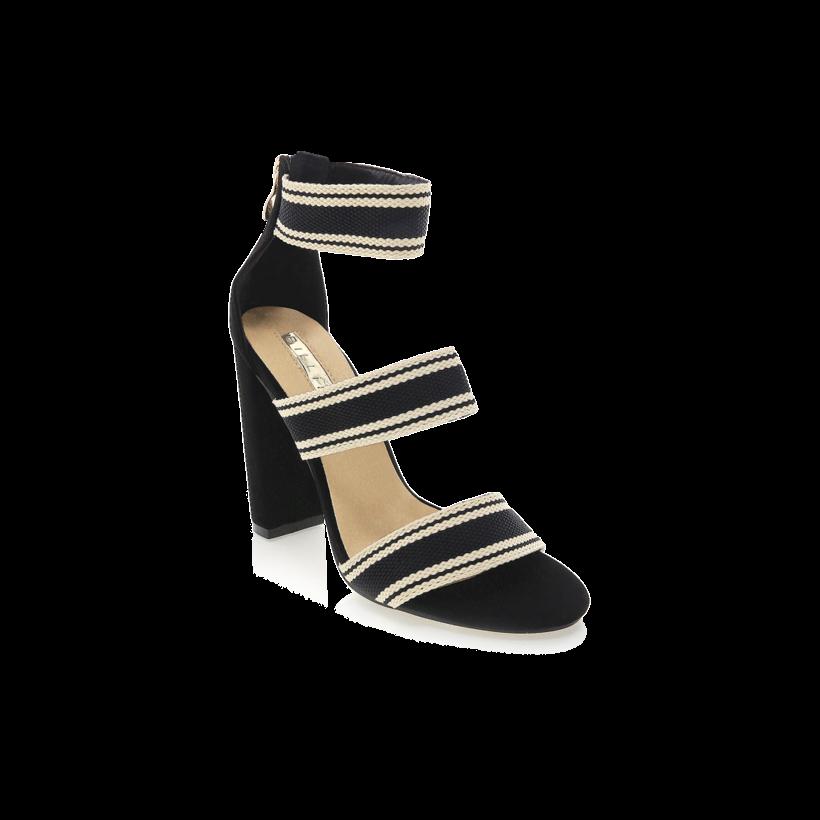 Leros - Black Stripe by Billini Shoes
