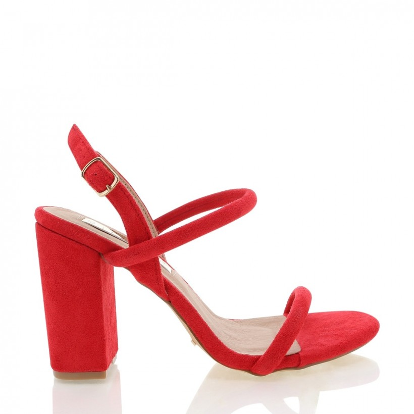 Marnie Red Suede by Billini Shoes