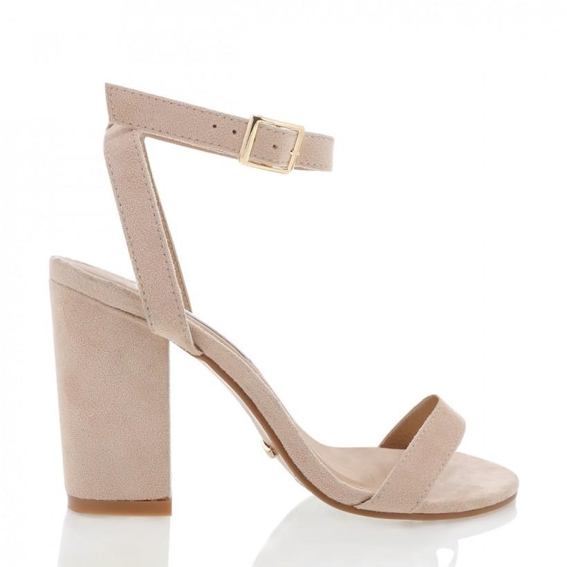 Nikaia Blush Suede by Billini Shoes