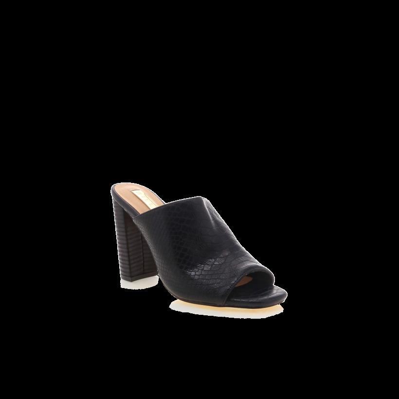 Olenca - Black Reptile Texture by Billini Shoes