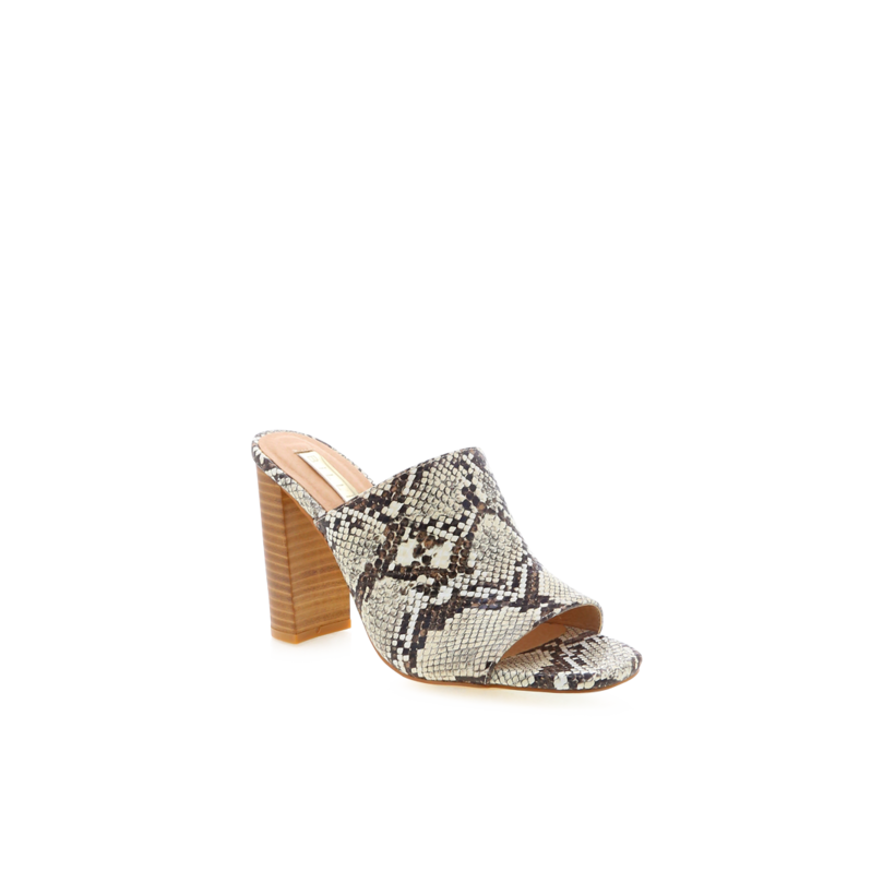 Olenca - Cream Snake by Billini Shoes