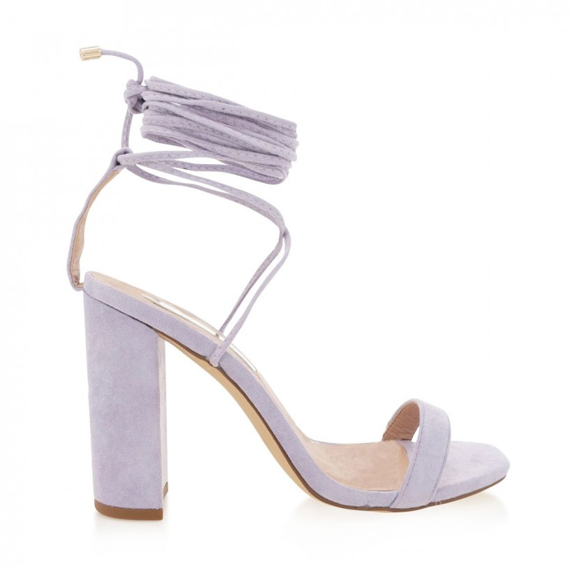 Oria Lilac Suede by Billini Shoes