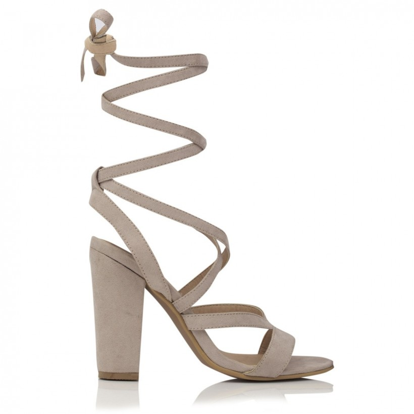 Preen Nude Suede by Billini Shoes